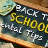 Back to School Dental Tips
